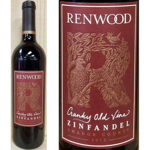 Renwood Cranky Old Vine Amador Zinfandel