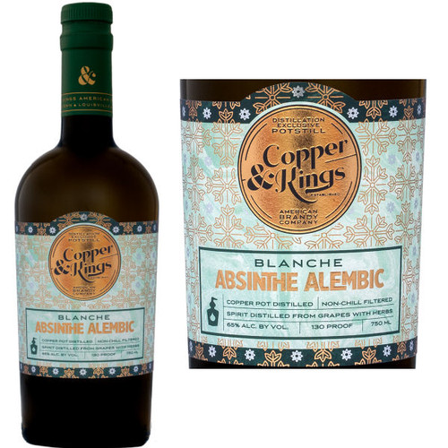 Copper & Kings Absinthe Alembic Blanche 750ml