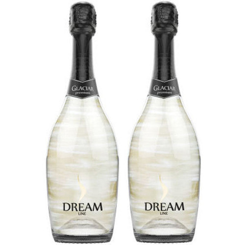 Dream Line Glaciar Sparkling Wine NV (Spain) 2-Pack