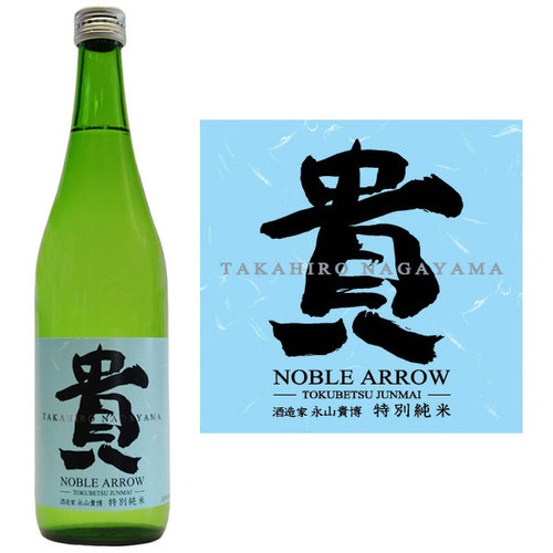 Taka Noble Arrow Tokubetsu Junmai Sake 720ml