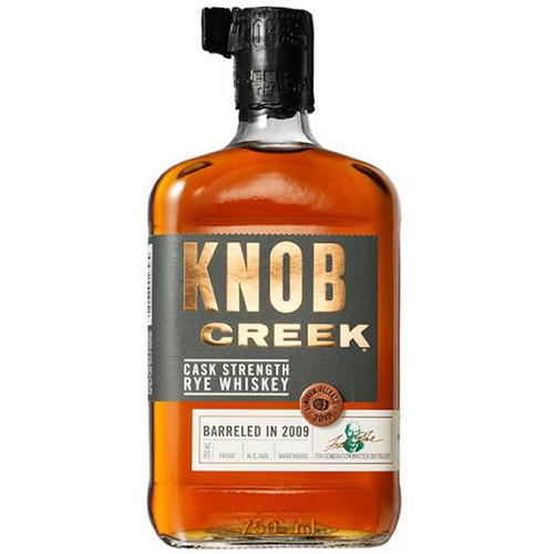 Knob Creek Cask Strength Rye Whiskey 750ml