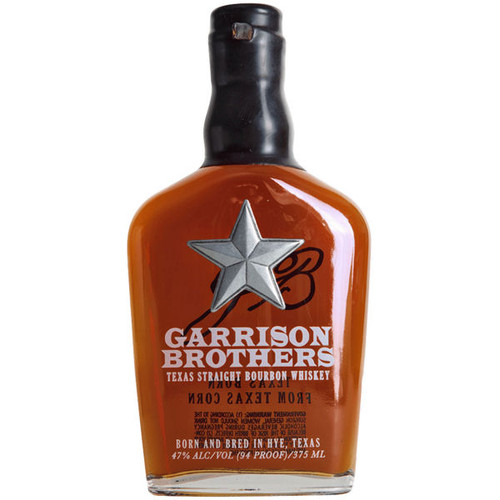 Garrison Brothers Boot Flask Small Batch Texas Bourbon Whiskey 375ml
