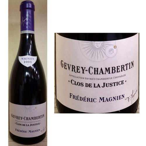 Frederic Magnien Gevrey-Chambertin Clos de la Justice Red Burgundy