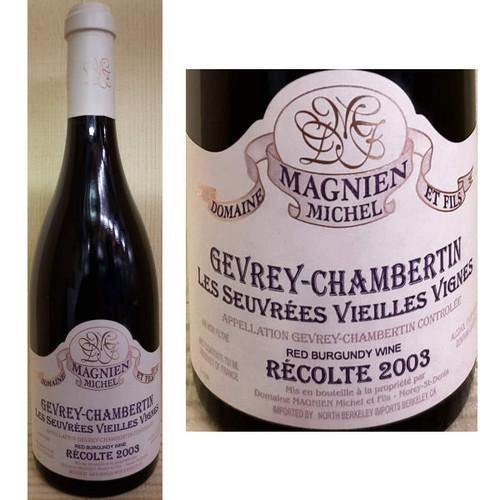 Domaine Magnien Michel Gevrey-Chambertin Les Suevrees Vieilles Vignes Red Burgundy