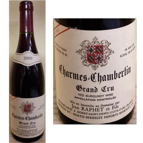 Jean Raphet Charmes-Chambertin Grand Cru Red Burgundy