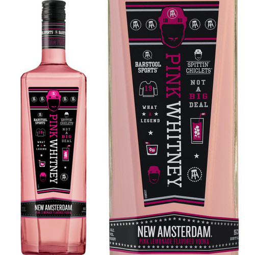 New Amsterdam Pink Whitney Vodka 750ml