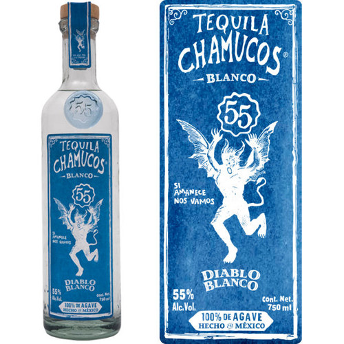 Chamucos Diablo Blanco Tequila 750ml