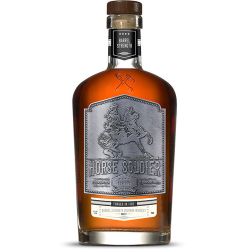 Horse Soldier Reserve Barrel Strength Bourbon Whiskey 750ml