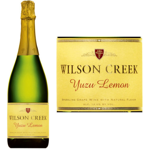 Wilson Creek Sparkling Yuzu Lemon