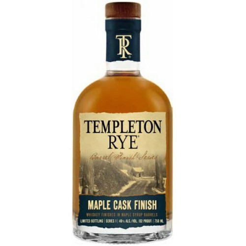 Templeton Rye Maple Cask Finish Rye Whiskey 750ml
