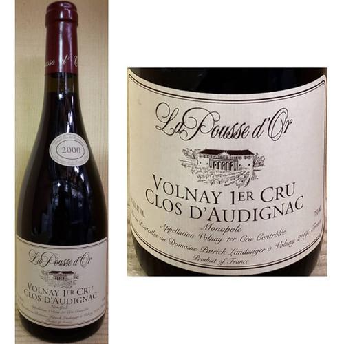 La Pousse d'Or Volnay 1er Cru Clos D'Audignac Red Burgundy