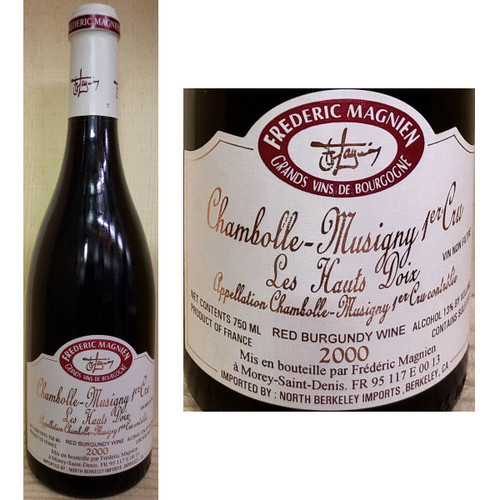 Frederic Magnien Chambolle-Musigny 1er Cru Les Hauts Doix Red Burgundy