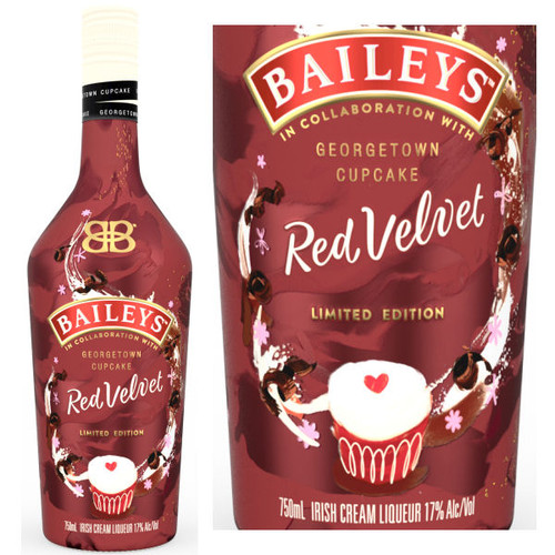 Baileys Irish Cream Red Velvet Liqueur 750ml