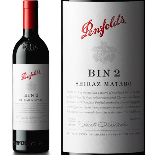 Penfolds Bin 2 South Australia Shiraz-Mataro
