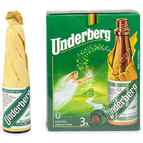 Underberg Natural Herb Bitters 3-Pack