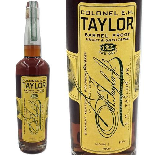 Colonel E.H. Taylor Jr. Barrel Proof Straight Kentucky Bourbon Whiskey 750ml