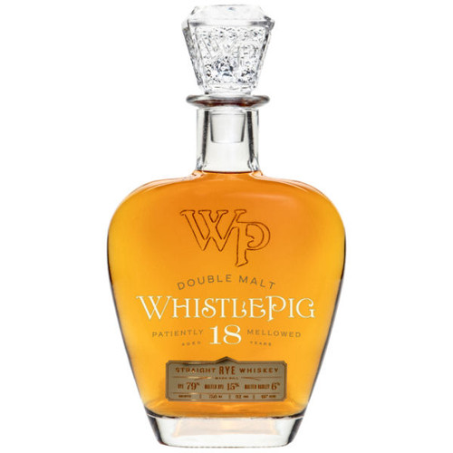WhistlePig 18 Year Old Double Malt Rye Whiskey 750ml