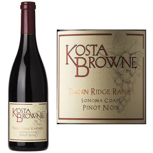 Kosta Browne Thorn Ridge Vineyard Sonoma Coast Pinot Noir