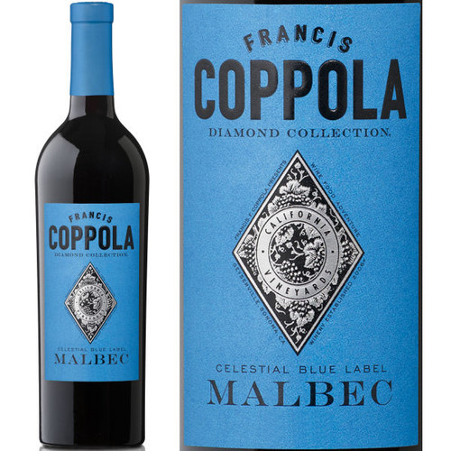 Francis Coppola Diamond Series Celestial Blue Label Malbec