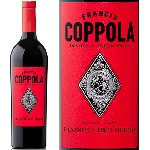 Francis Coppola Diamond Series Scarlet Label Red Blend