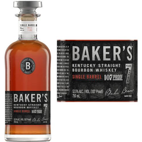 Baker's 7 Year Single Barrel Old Kentucky Straight Bourbon Whiskey 750ml