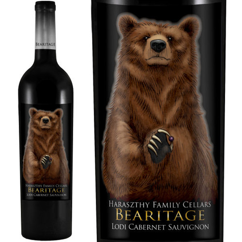 Bearitage by Haraszthy Family Cellars Lodi Cabernet