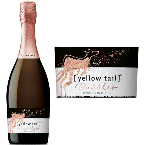Yellow Tail Bubbles Sparkling Rose NV