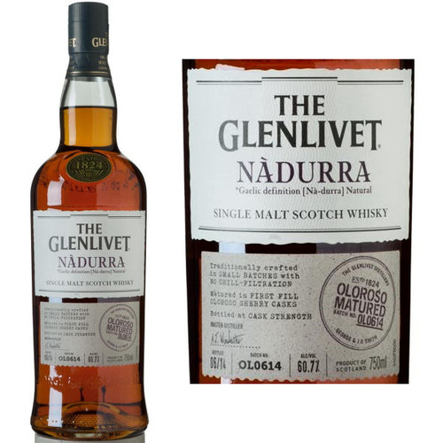 The Glenlivet Nadurra Oloroso Speyside 750ml