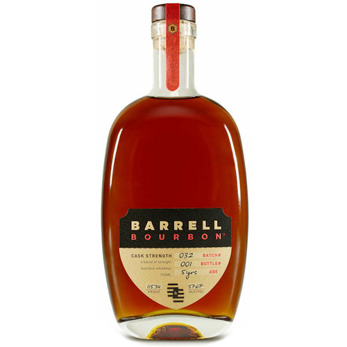 Barrell Bourbon Batch 22 5 Year Old Cask Strength Bourbon Whiskey 750ml