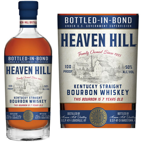 Heaven Hill 7 Year Old Kentucky Straight Bourbon Whiskey 750ml