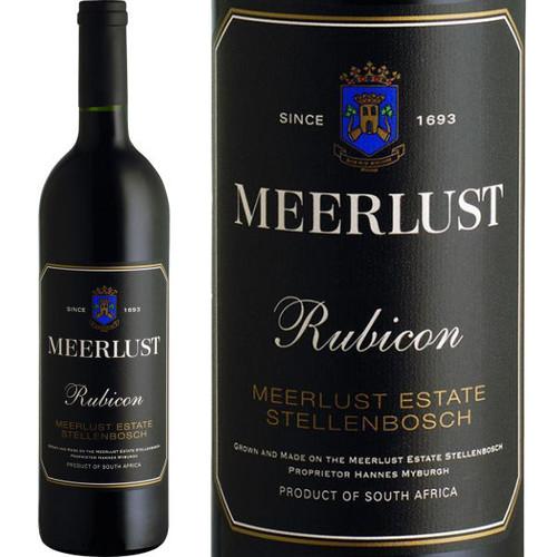 Meerlust Stellenbosch Rubicon Bordeaux Blend
