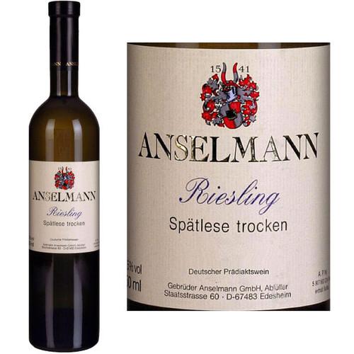 Anselmann Riesling Spatlese Trocken Pfalz