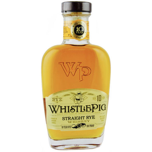 WhistlePig 10 Year Old Straight Rye Whiskey 375ml