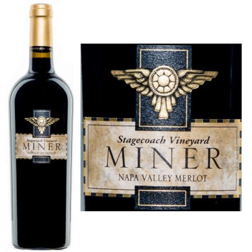 Miner Stagecoach Vineyard Napa Merlot