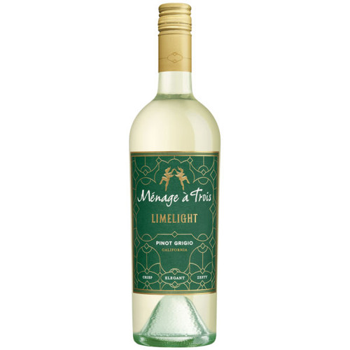Menage a Trois California Limelight Pinot Grigio