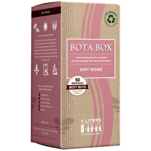 Bota Box Dry Rose 3L
