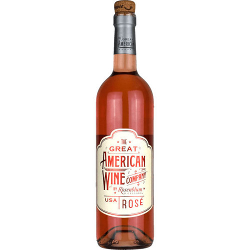 The Great American Wine Company by Rosenblum Rose