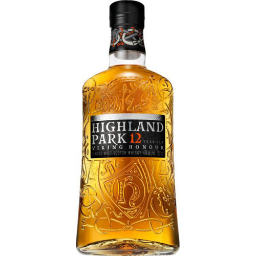 Highland Park Viking Honour 12 Year Old Orkney Island Single Malt Scotch 750ml