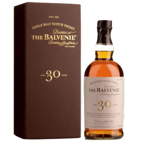 The Balvenie 30 Year Old Speyside Single Malt Scotch 750ml