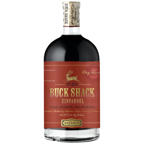 Buck Shack Bourbon Barrel Aged Lake County Zinfandel