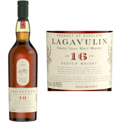 Lagavulin 16 Year Old Islay 750ml