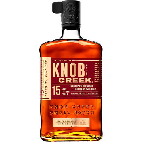 Knob Creek 15 Year Old Kentucky Straight Bourbon Whiskey 750ml