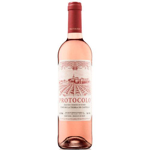 Dominio de Eguren Protocolo Vino de la Tierra de Castilla Rosado Rose