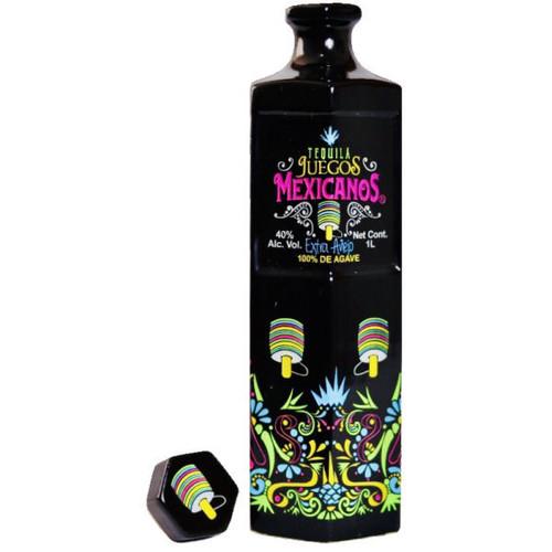 Juegos Mexicanos Extra Anejo Tequila 1L