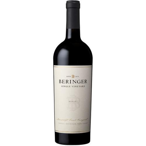 Beringer Bancroft Ranch Vineyard Howell Mountain Napa Merlot
