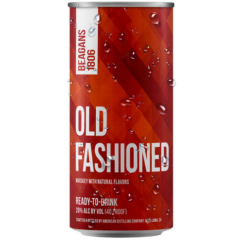 Beagens 1806 Old Fashioned Ready To Drink Cocktail 200ml 4-Pack