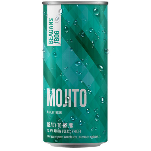 Beagens 1806 Mojito Ready To Drink Cocktail 200ml 4-Pack