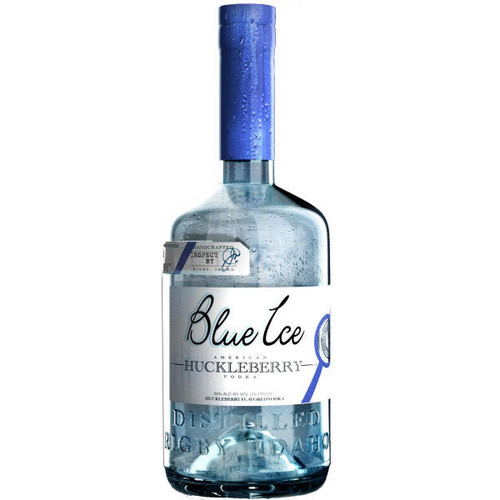 Blue Ice American Huckleberry Vodka 750ml
