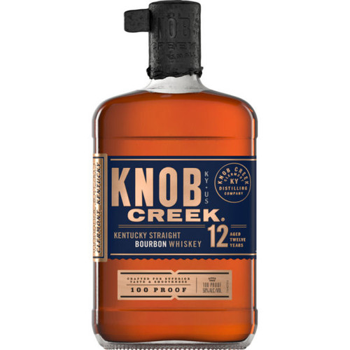 Knob Creek 12 Year Old Kentucky Straight Bourbon Whiskey 750ml