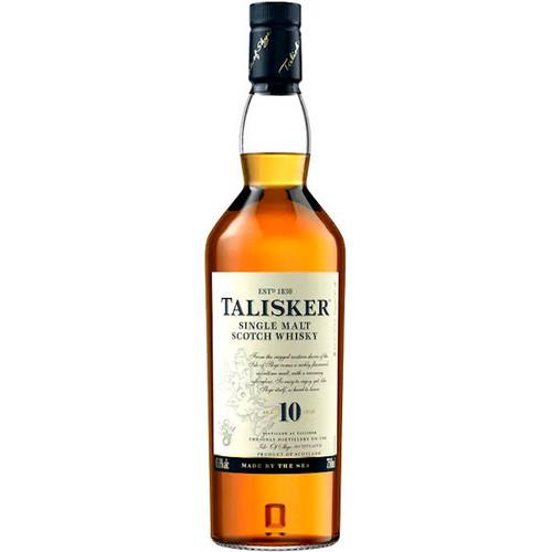 Talisker 10 Year Old Isle of Skye Single Malt Scotch 750ml